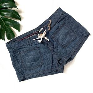 Element light jean shorts